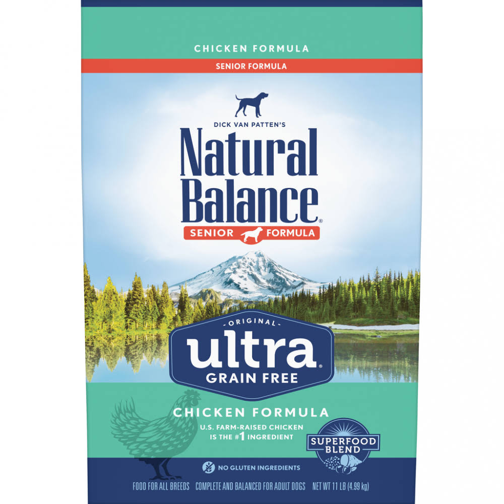 Natural Balance Original Ultra Grain Free Senior Recipe with Chicken Dry Dog Food 24-lb