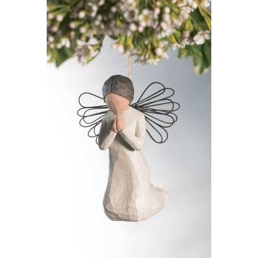 Willow Tree Ornament - Angel of Prayer