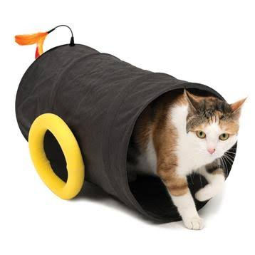 Catit Play Pirates Cannon Cat Tunnel