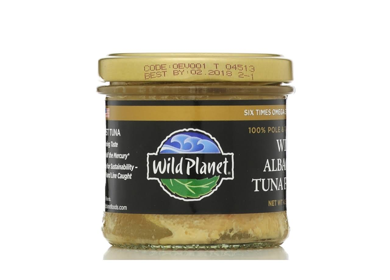 Wild Planet Wild Albacore Tuna Fillets - 128g