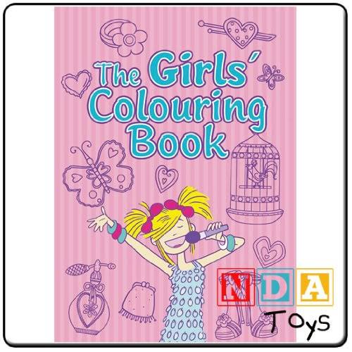 The Girls¿ Colouring Book [Book]