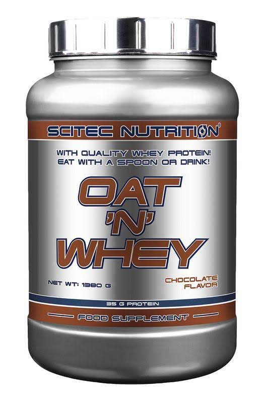 Scitec Oat 'n' Whey 1380 grams Strawberry