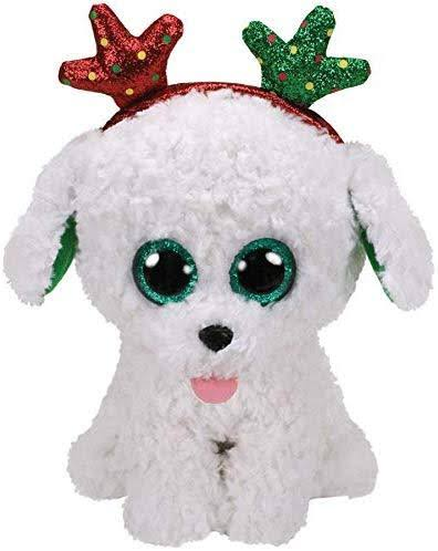 Ty Sugar Dog Beanie Boo Christmas 2019