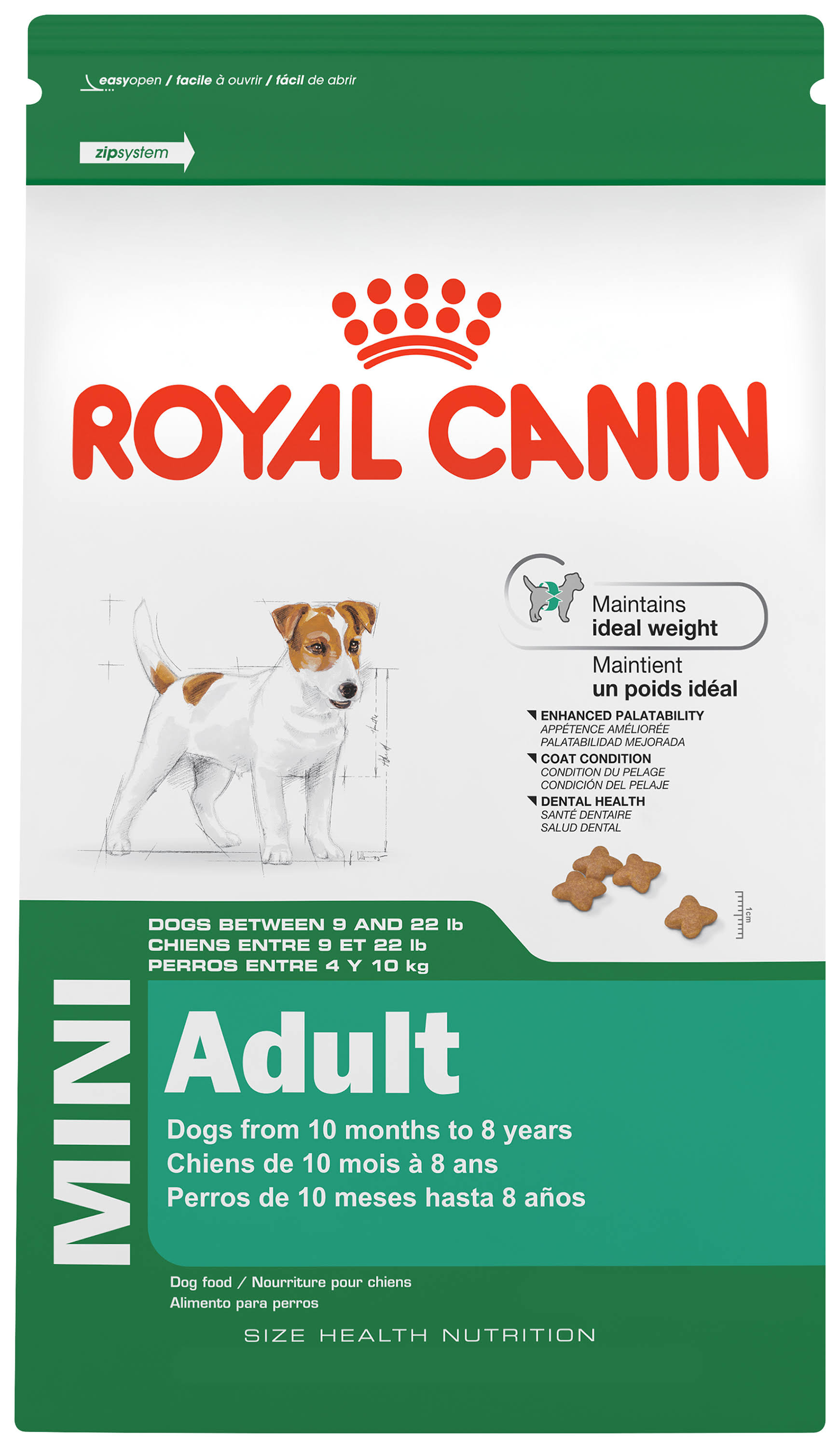 Royal Canin Mini Adult Dog Food - 2.5lbs