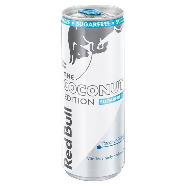 Red Bull the Coconut Edition Sugarfree Sport Drink - Coconut and Berry, 250ml