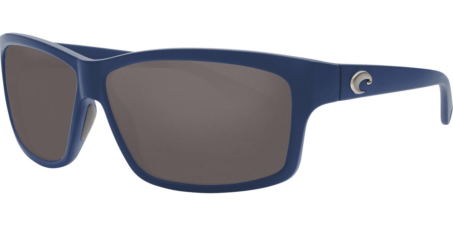 Costa Cut 580G Polarized Sunglasses - Matte Atlantic Blue/Gray