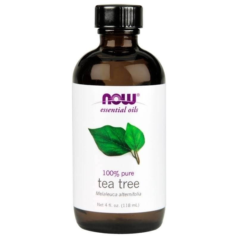 Now Foods 100% Pure Tea Tree Essential Oil - 118ml