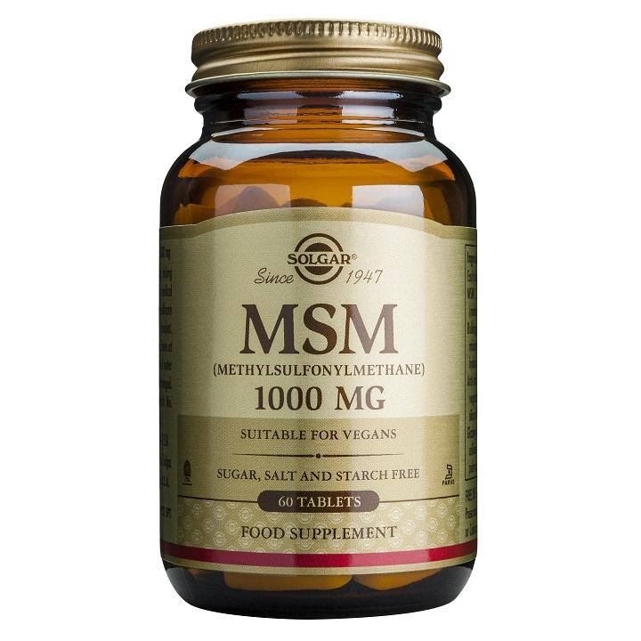 Solgar MSM Dietary Supplement
