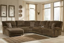 Brown Couch Room Designs by Decorating Ashley Furniture Sectional With Brown Sofa And Blue