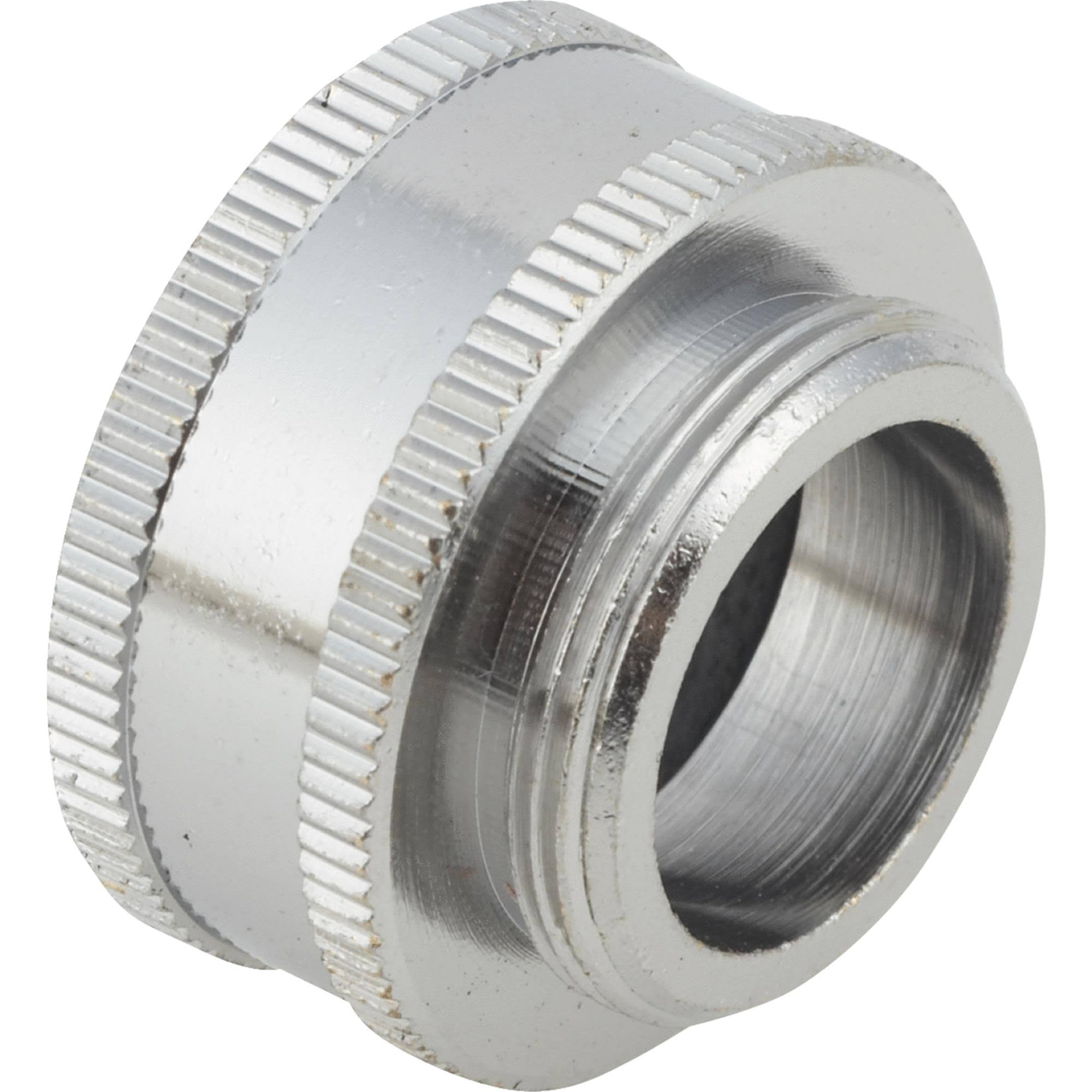 Do It Aerator Hose Thread Faucet Adapter - 1""