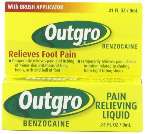 Outgro Pain Relieving Liquid - 0.31oz