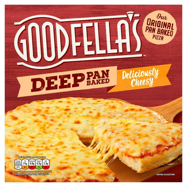 Goodfella's Deep Pan Baked Deliciously Cheesy Frozen Pizza - 421g