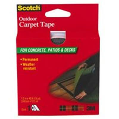 3m Scotch Outdoor Carpet Tape