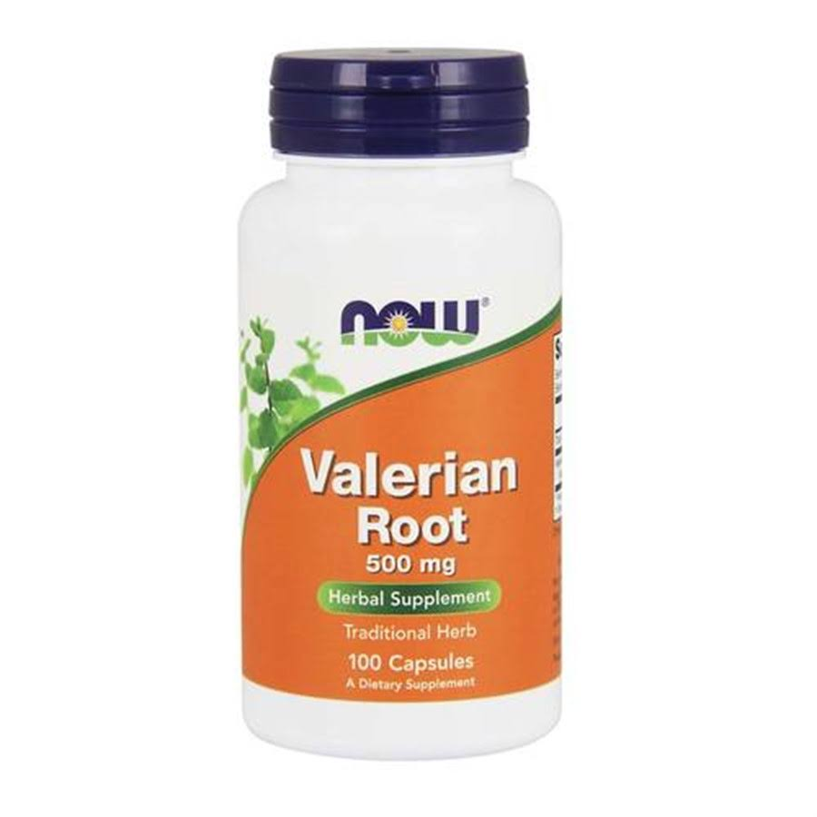Now Foods Valerian Root - 500mg, 100 Capsules