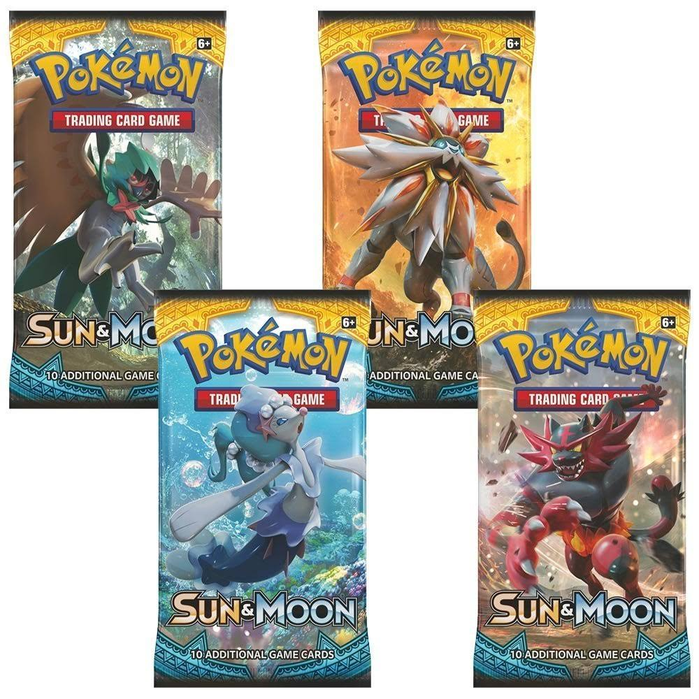 Pokemon TCG Sun and Moon Boosters - 36 Packs