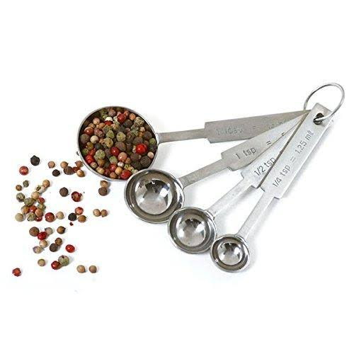 Norpro Stainless Steel Measuring Spoons - 4pcs