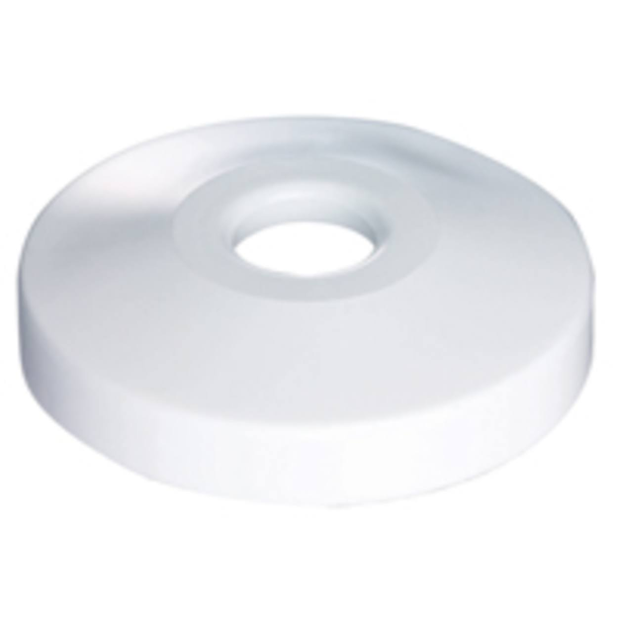 Plumb Pak PP80884 Shallow Slip On Bath Flange - 1.3cm, Plastic, White