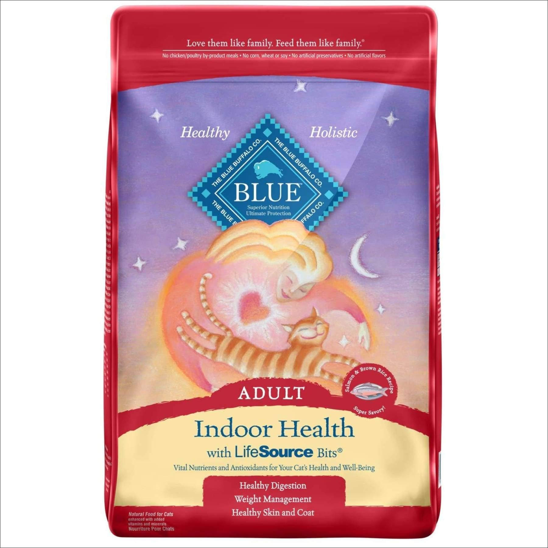 Blue Buffalo Indoor Formula Dry Cat Food - Salmon, 15lb Bag