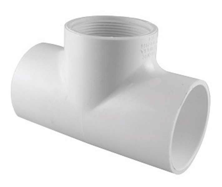Charlotte Pipe PVC Schedule 40 Tee - 1/2""