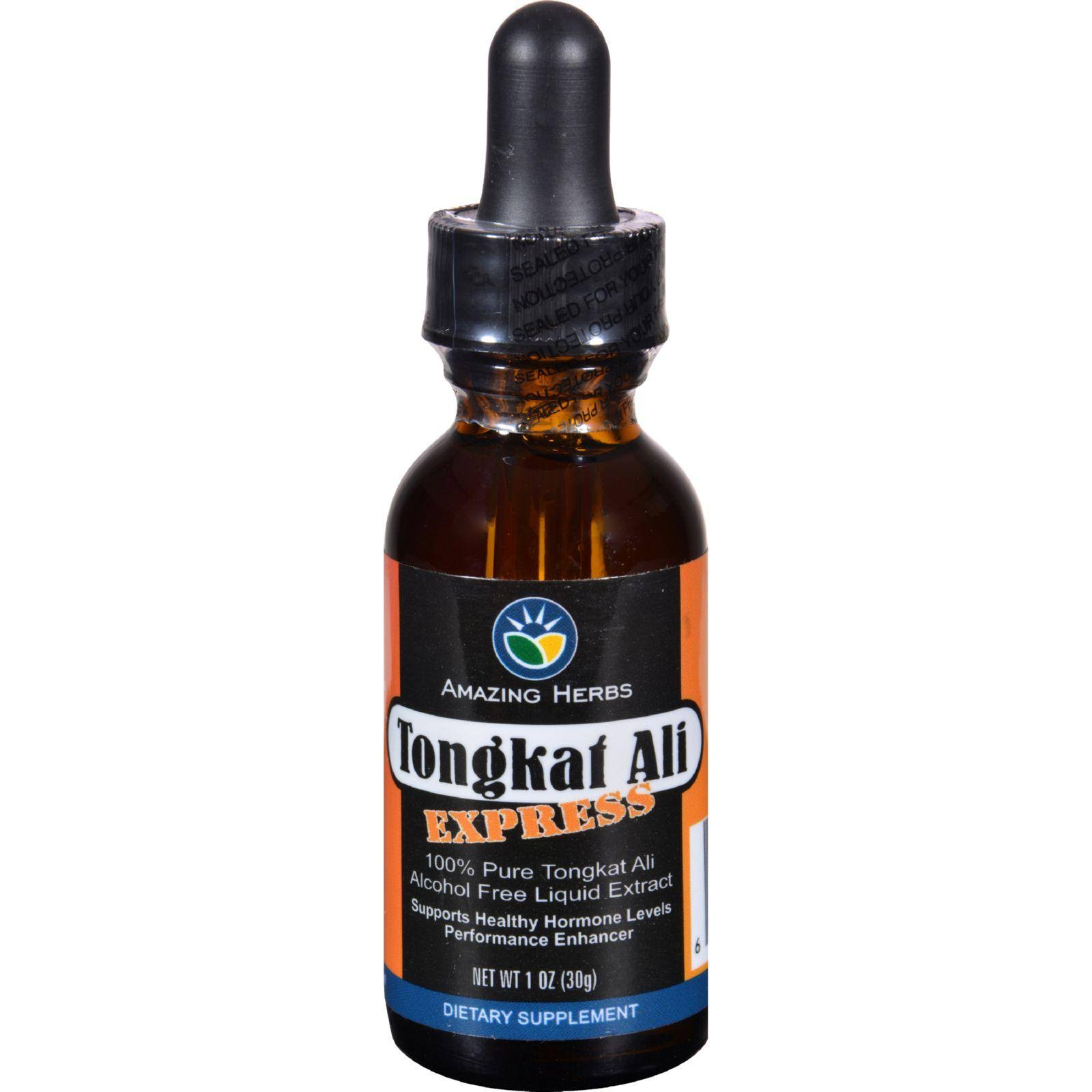 Tongkat Ali Express Amazing Herbal Liquid Extract Supplement - 1oz