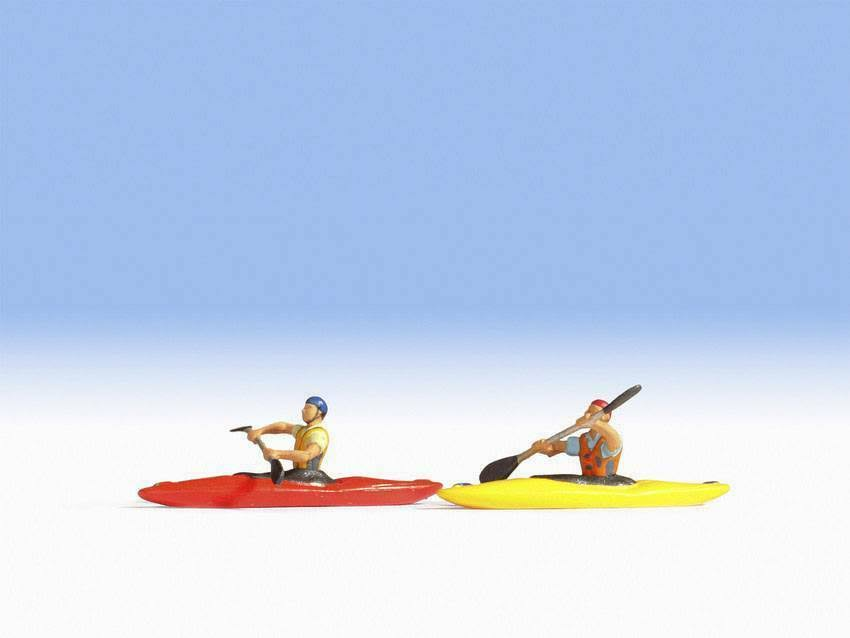 Noch 16809 Kayaks Ho Gauge Figures Set