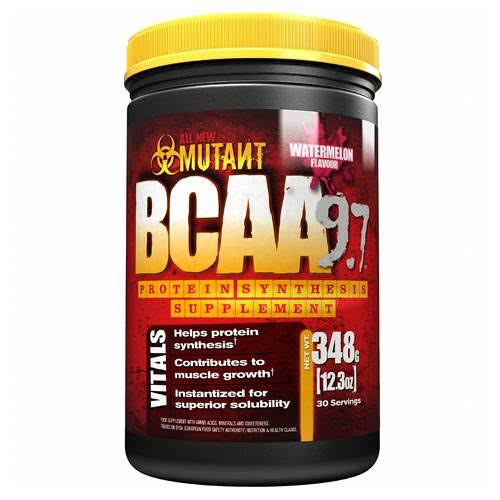 Mutant Bcaa 9.7 Protein Supplement - Blue Raspberry, 30 Servings