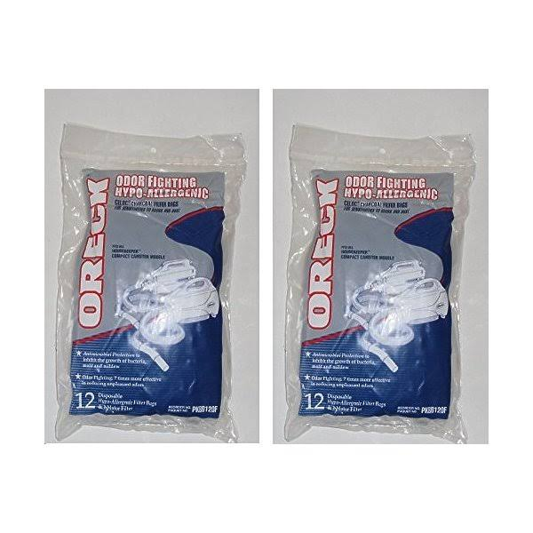 Oreck Odor Fighting Hypo Allergenic Bags - x12