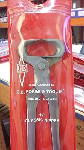 "Anvil 139787 GE 15"" Regular Hoof Nipper"
