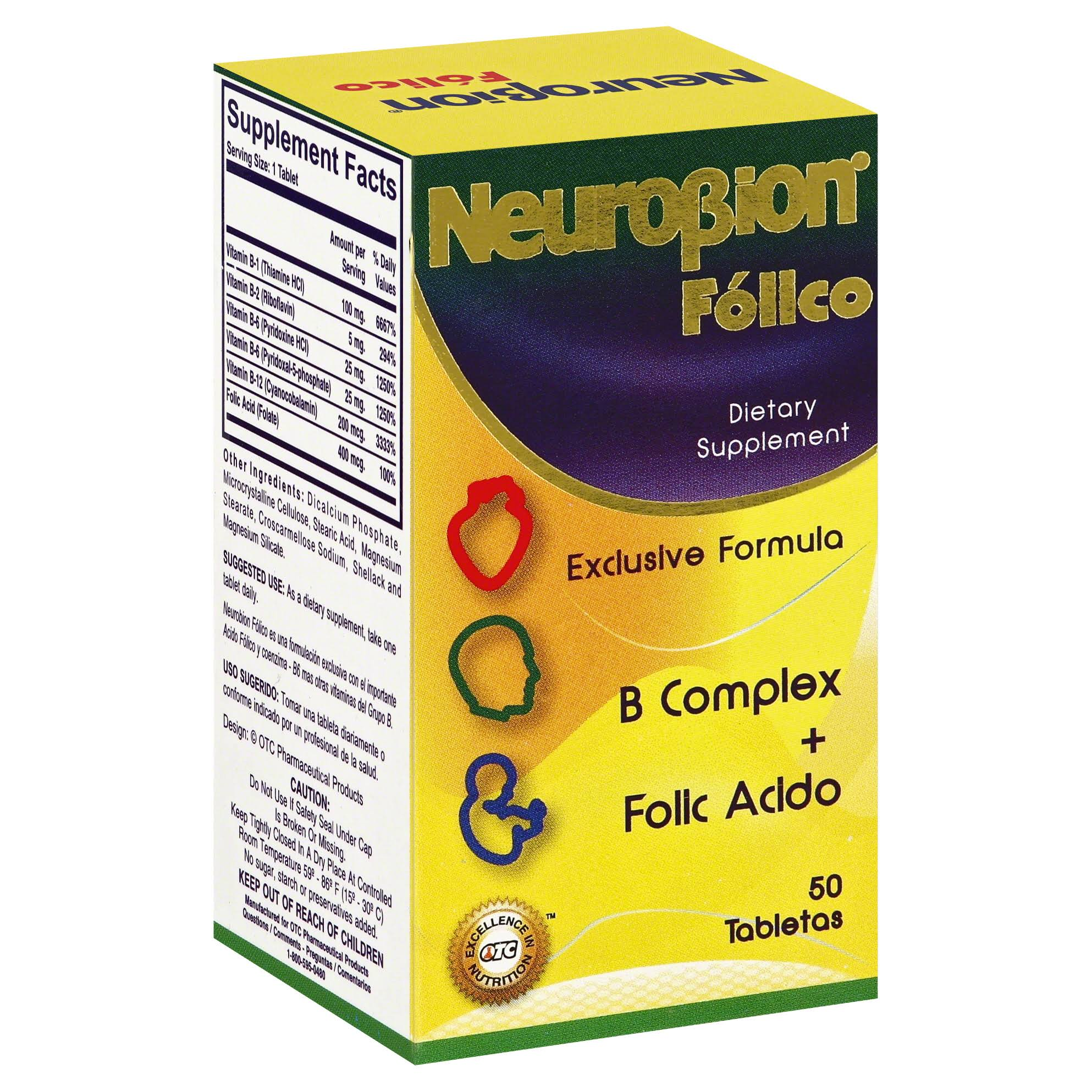 NeuroBion Folico Tablets
