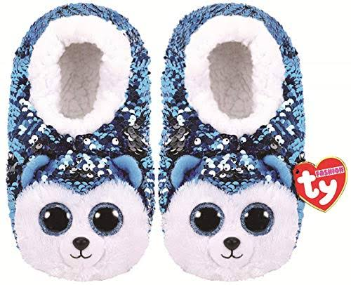 Ty Fashion Sequin Slipper Socks Slush Medium (1-3)