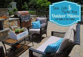 Fitted Outdoor Tablecloth With Umbrella Hole by Patio Table Cloths Home Design Ideas And Pictures