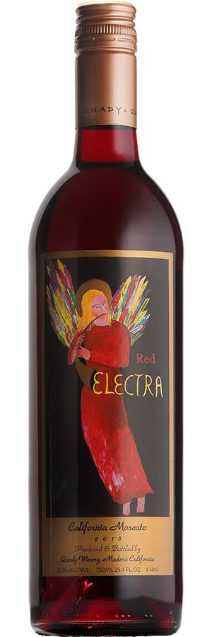 Quady Electra Red Dessert Wine - 750ml