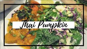 Thai Green Pumpkin Curry Recipe by Thai Coconut Pumpkin Curry Vegan Youtube