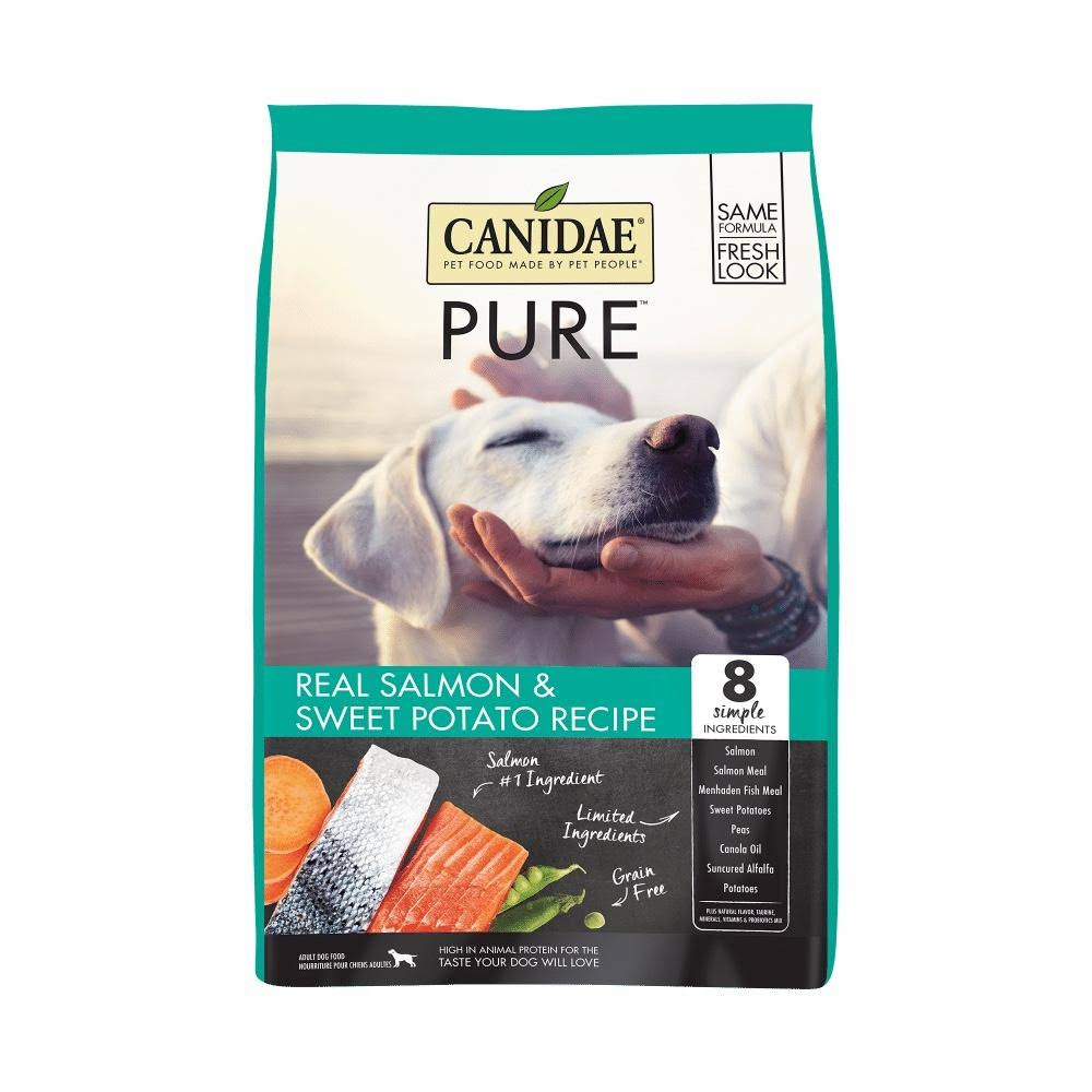 Canidae Pure Adult Dog Dry Food - Fresh Salmon, 12lb