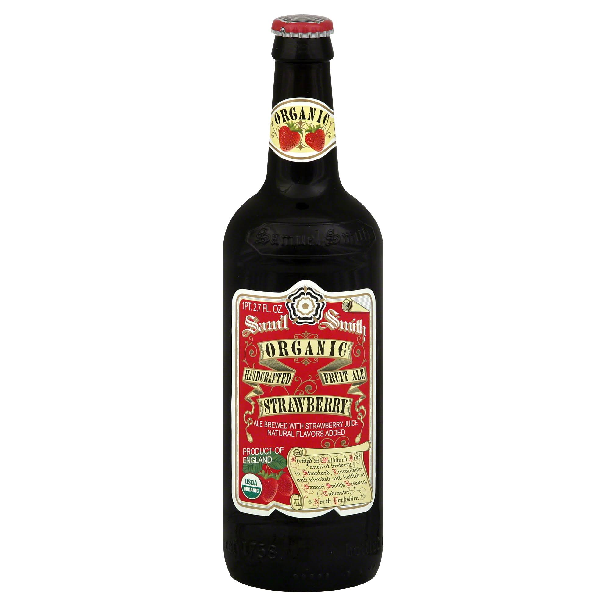 Samuel Smith Organic Strawberry Ale