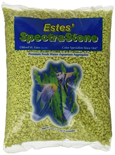 Spectrastone Permaglo Aquarium Gravel - Yellow, 5lb