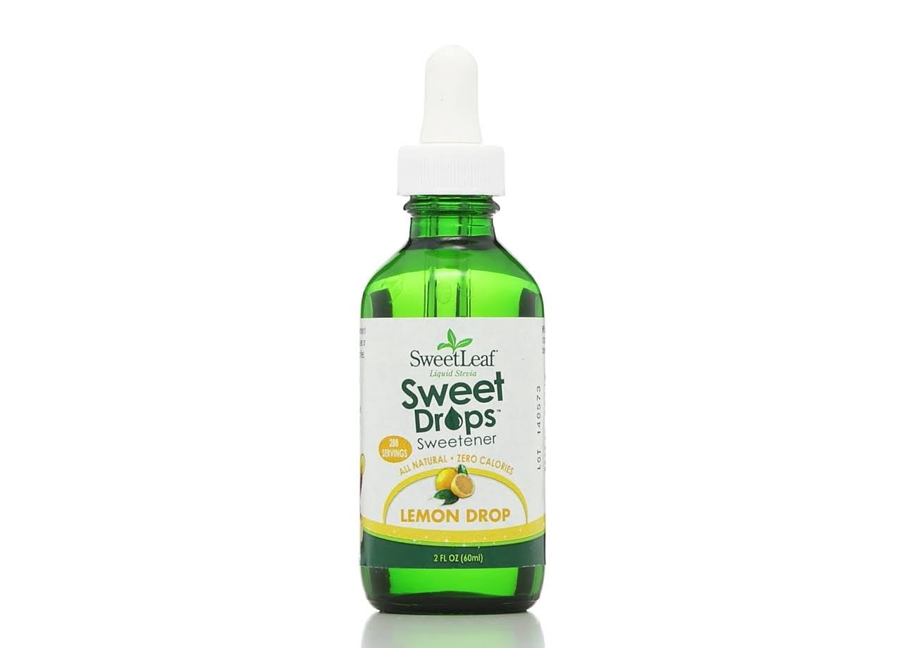 Wisdom Natural Sweetleaf Liquid Stevia - Lemon Drop, 2oz