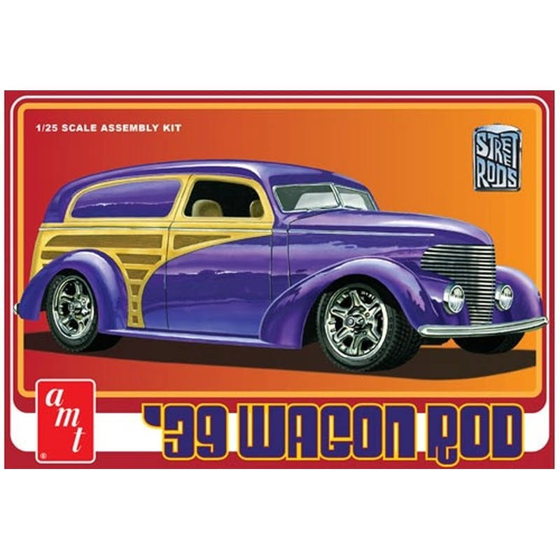 AMT 1:25 1939 Wagon Rod Plastic Model Kit