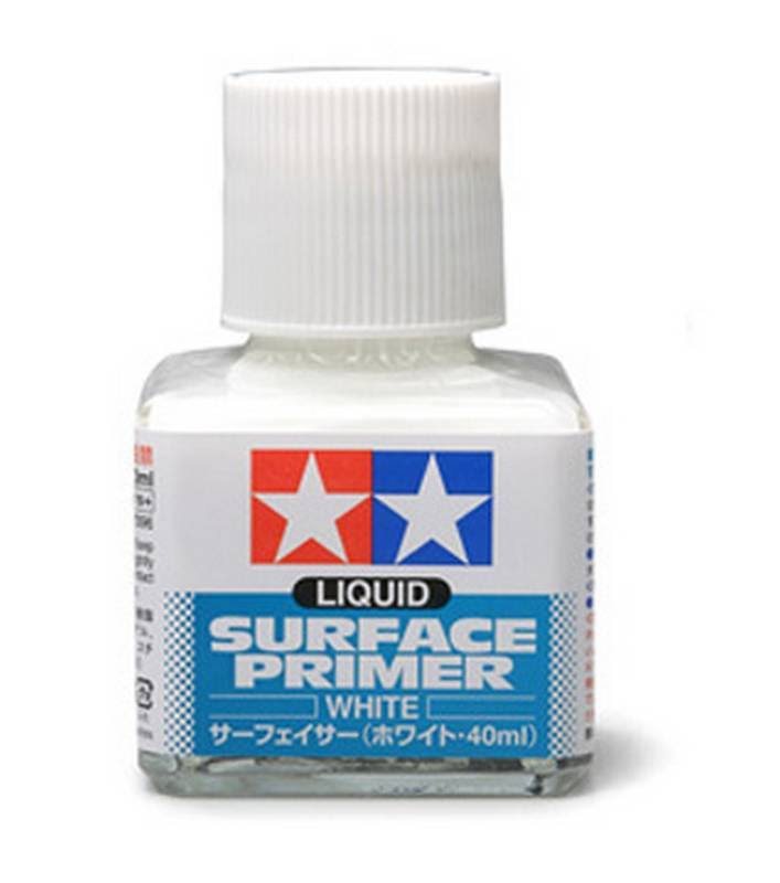 Tamiya Liquid Surface Primer - 40ml, White