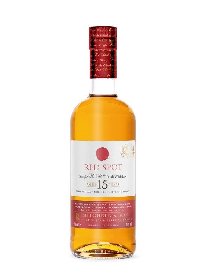 Red Spot 15 Year Old Single Pot Still Whiskey