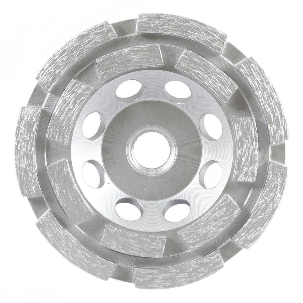 "Forney 71510 Diamond Cup Wheel - with 5/8"" Arbor, 4"""