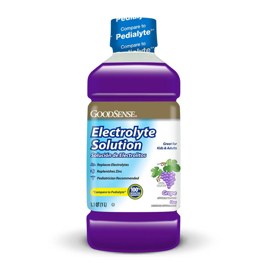 GoodSense Pediatric Electrolyte Grape 1 LTR