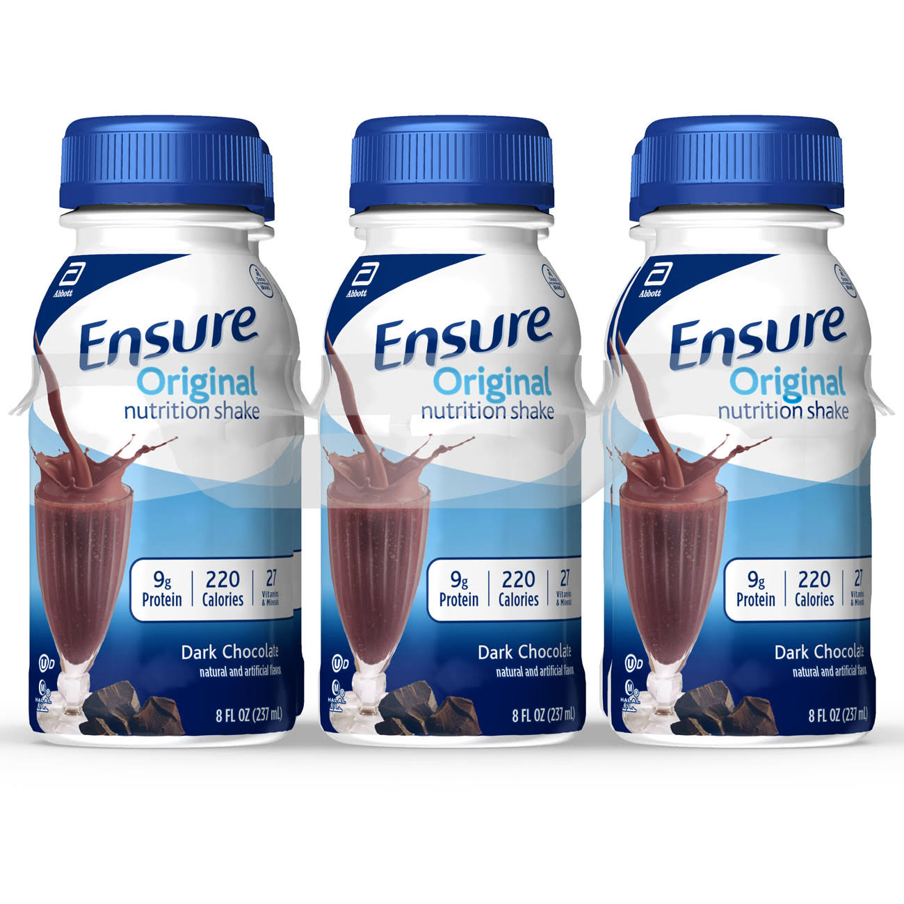 Ensure Original Nutrition Shake - Dark Chocolate, 8oz
