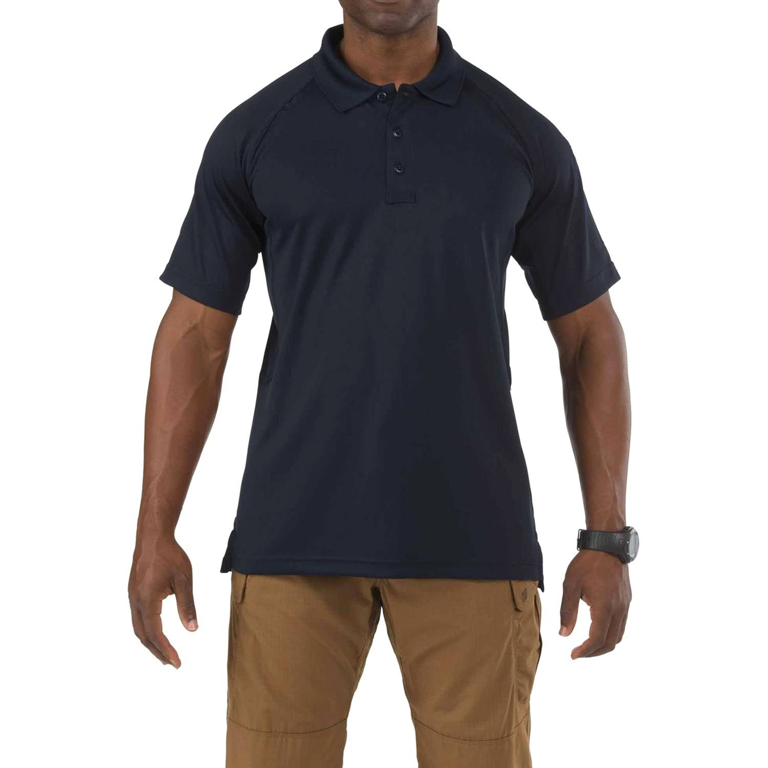 5.11 Men's Performance Polo Short Sleeve Shirt - Dark Navy
