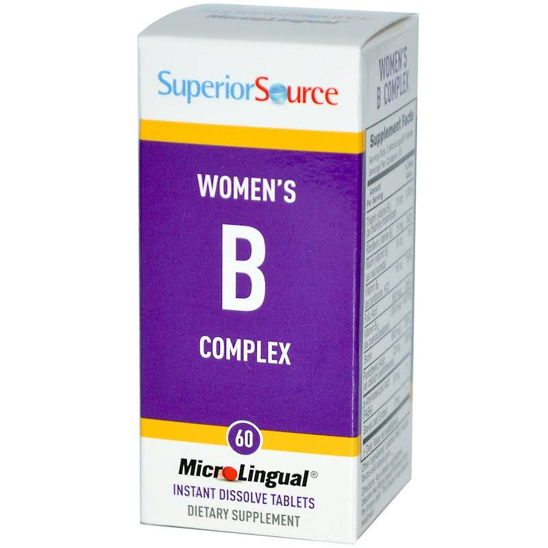 Superior Source Women's B Complex - 60 Tablets