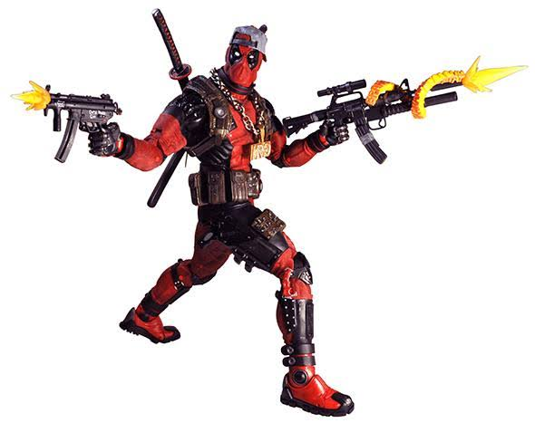 Marvel 1/4 Scale Action Figure Ultimate Deadpool