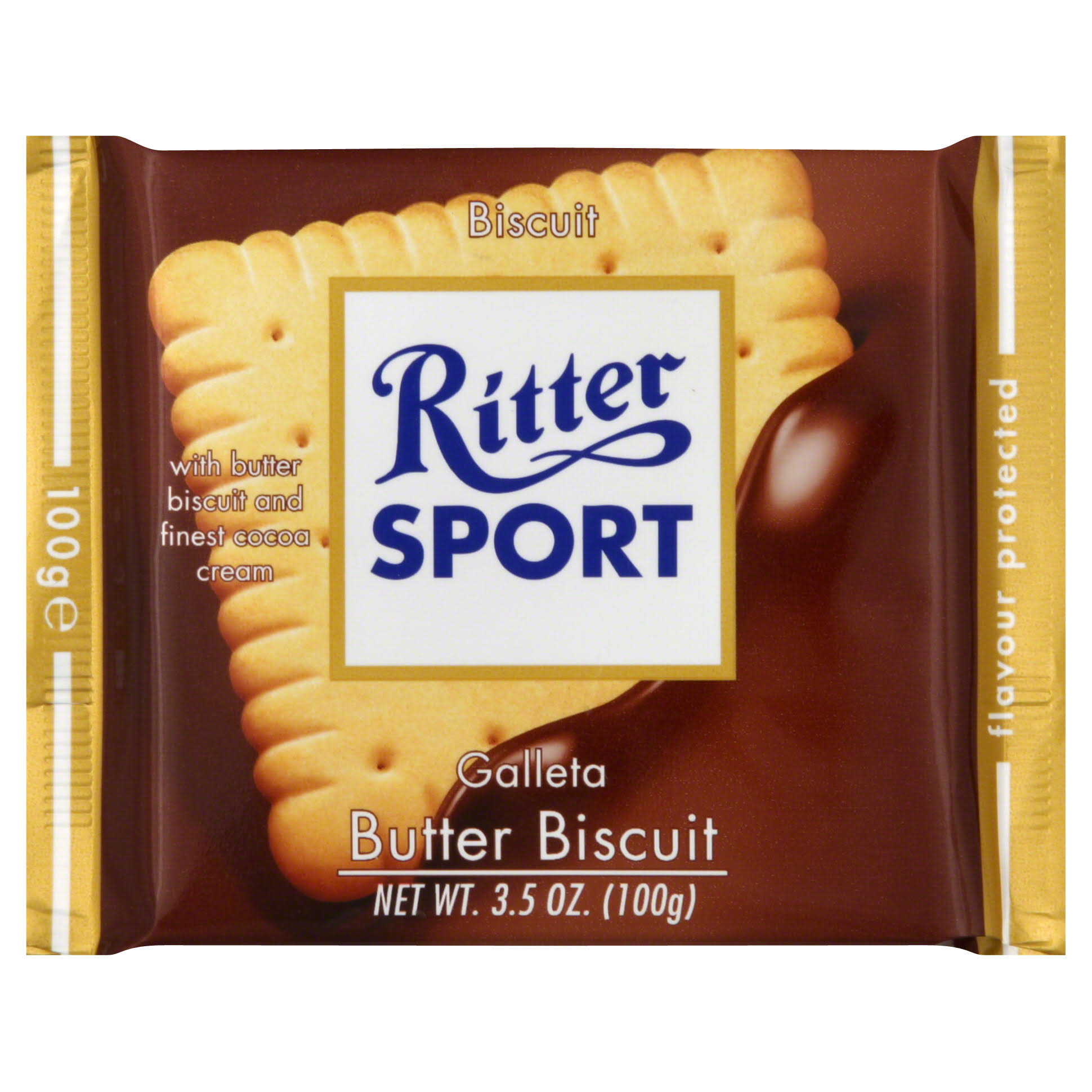 Ritter Sport Butter Biscuit - 3.5 oz