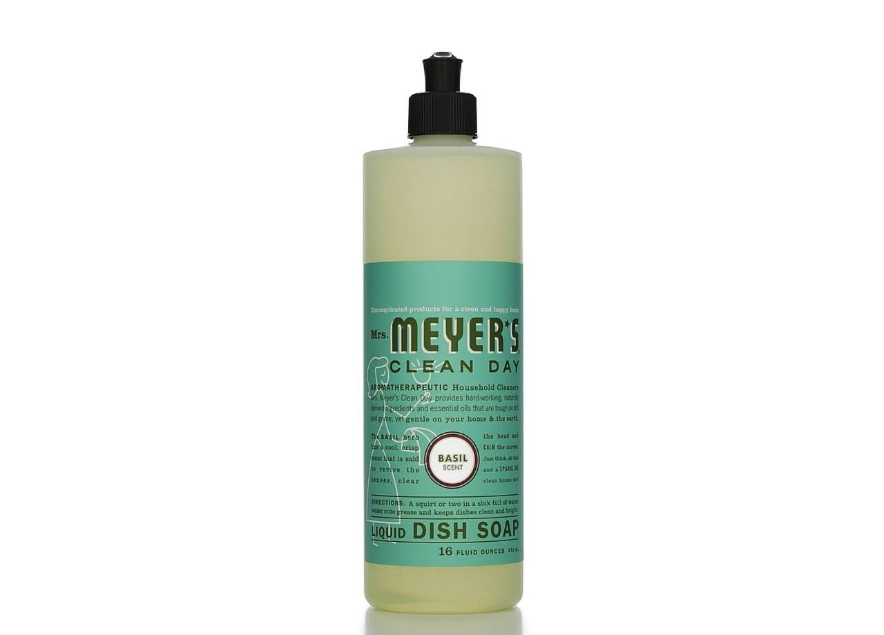 Mrs Meyer's Clean Day Liquid Dish Soap - Basil