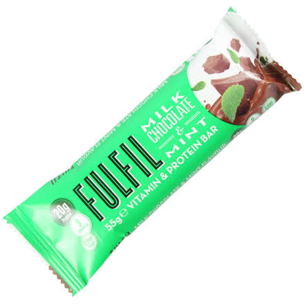Fulfil Vitamin & Protein Bar - Milk Chocolate & Mint, 15 x 55g