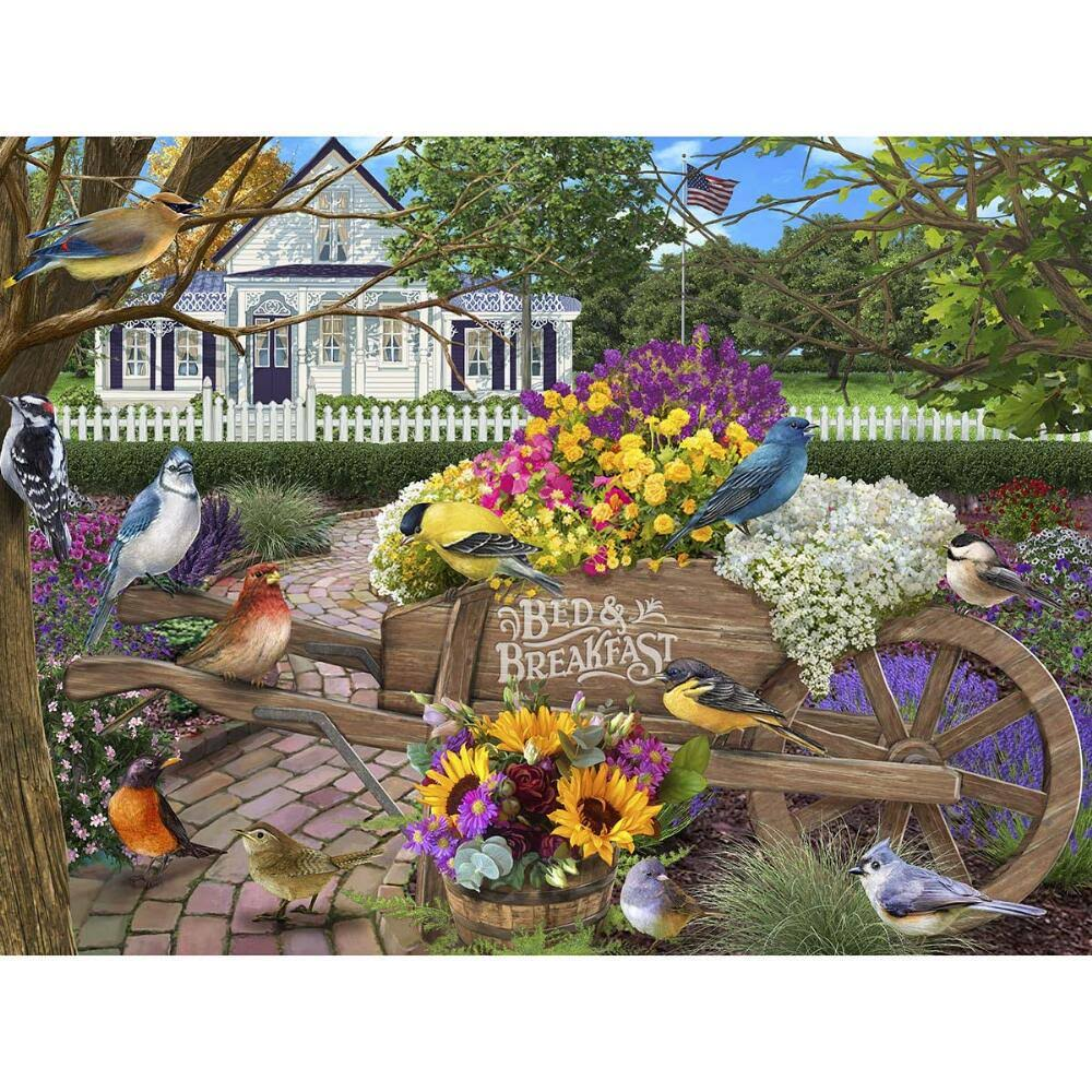 The Jigsaw Puzzle Factory Bed & Breakfast Jigsaw Puzzle